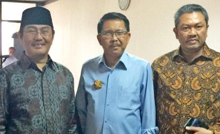 Presiden KAI bersama Jimly Ashiddiqie
