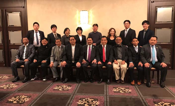KAI, Indonesia Japan Solution (IJS) dan Rinri Hochinkai di Tachikawa, Tokyo