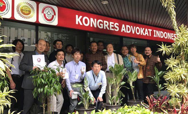 KAI Terima Kunjungan Kehormatan Gunma Bar Association Jepang