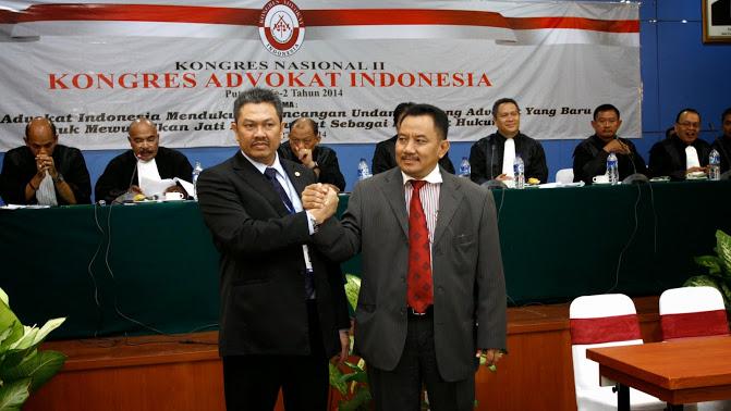 DPP Kongres Advokat Indonesia (KAI) Dikukuhkan