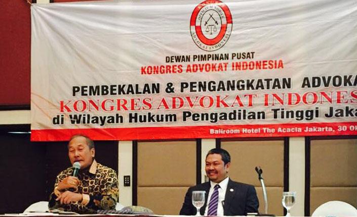 Pembekalan Kongres Advokat Indonesia