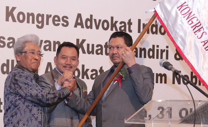 Presiden KAI dan Adnan Buyung Nasution