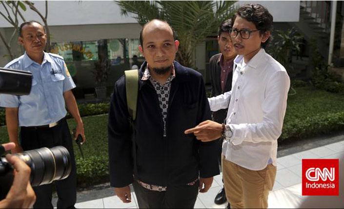 Korban Penembakan Novel Baswedan Jelaskan Perkara ke DPR