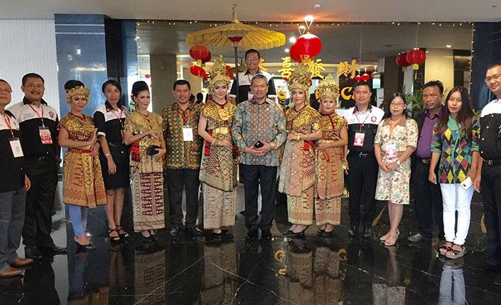 Menyambut Presiden di KNLB KAI di Palembang