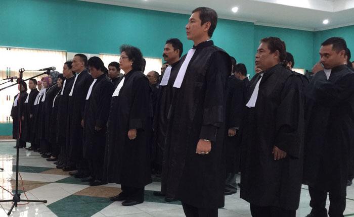 Pengambilan sumpah dan janji advokat KAI resmi
