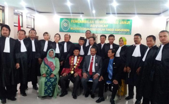 Pengambilan sumpah janji advokat