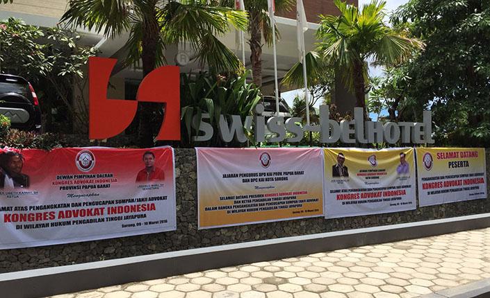 Ketua Pengadilan Tinggi Jayapura Kukuhkan 26 Advokat KAI 2