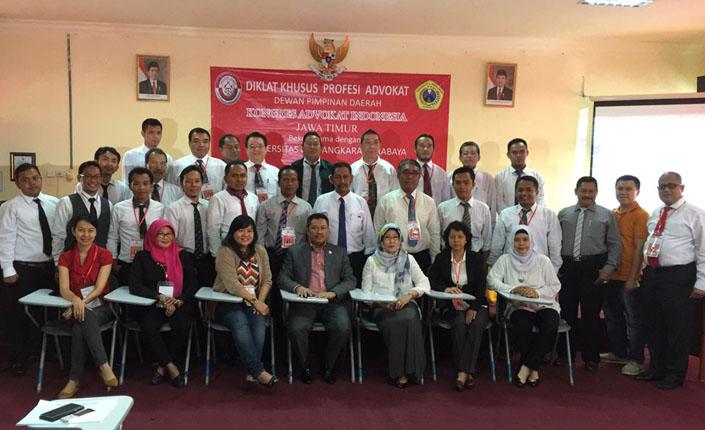 Pendidikan Khusus Profesi Advokat KAI DPD Jawa Timur 3