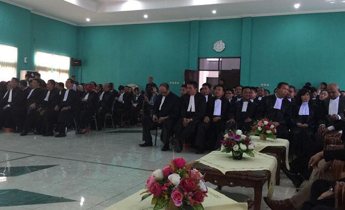 Pengambilan sumpah Advokat KAI di Pengadilan Tinggi Semarang - Semarang, 22 Maret 2016