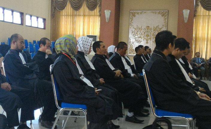 Sidang Terbuka Pengambilan Sumpah Advokat KAI Jawa Timur | Surabaya, 17 Maret 2016 6