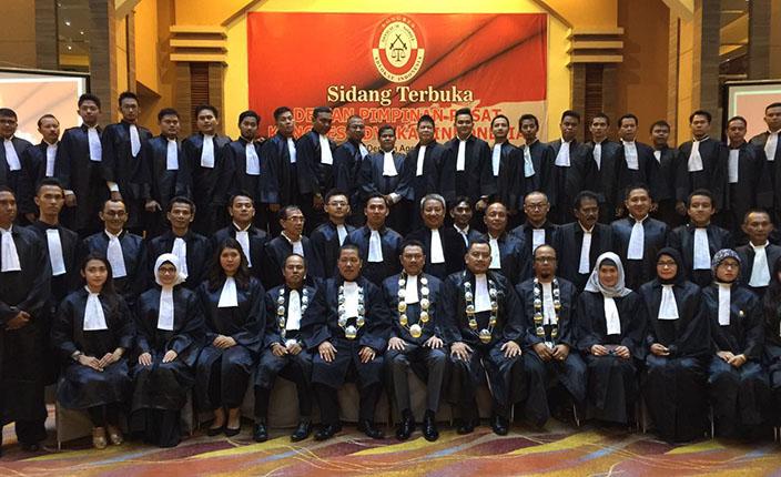 Rapimda dan Pengangkatan Advokat KAI Kalimantan Selatan di Hotel Aria Barito Banjarmasin, 26 April 2016 2