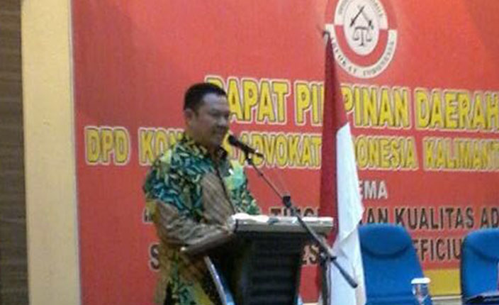 Rapimda dan Pengangkatan Advokat KAI Kalimantan Selatan di Hotel Aria Barito Banjarmasin, 26 April 2016 4