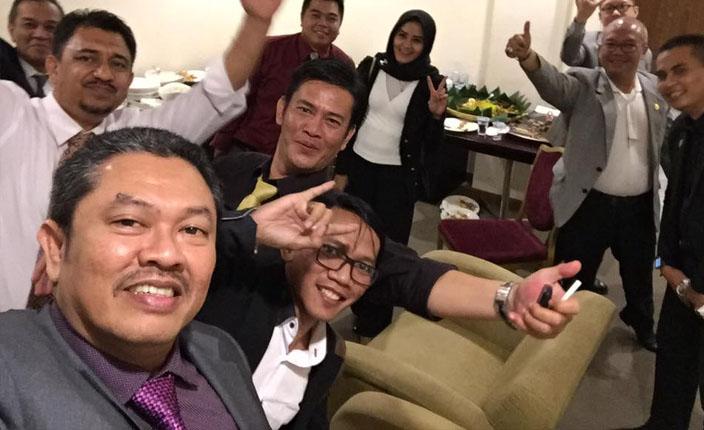 Sidang Terbuka DPP KAI dengan agenda Pengangkatan Advokat KAI Jawa Barat. Hotel Prama Grand Preanger Bandung 3