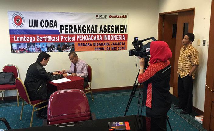 uji coba perangkat asesmen lembaga sertifikasi advokat indonesia 1