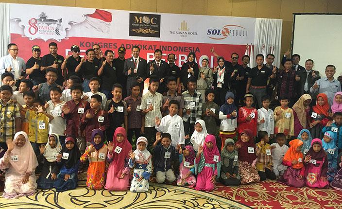 DPP KAI Kongres Advokat Indonesia Berbagi