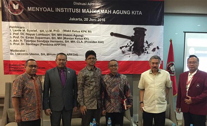 Presiden KAI minta Jokowi Keluarkan Paket Kebijakan Hukum