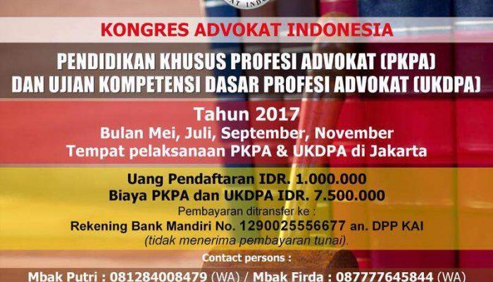 PKPA DPD KAI Jakarta 2017
