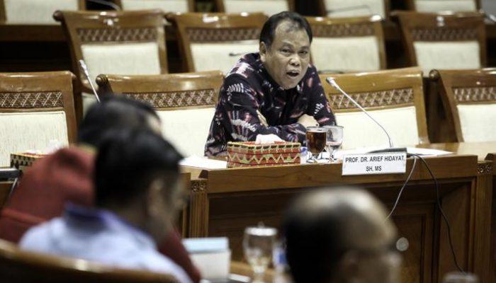 Dewan Etik MK Periksa Arief Hidayat Klarifikasi Lobi Calon Hakim