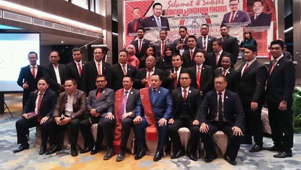 8 DPC KAI di Sumatera Utara Dikukuhkan