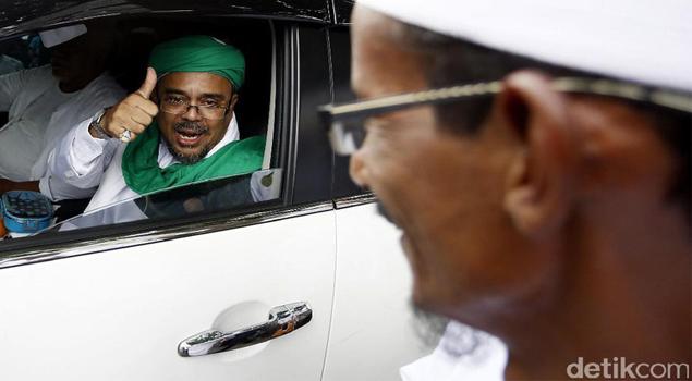 GNPF-U: Kapitra Hoax, Habib Rizieq Tak Diperiksa Polisi Saudi