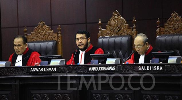 Komisi Hukum DPR Pilih Dua Calon Inkumben sebagai Hakim MK
