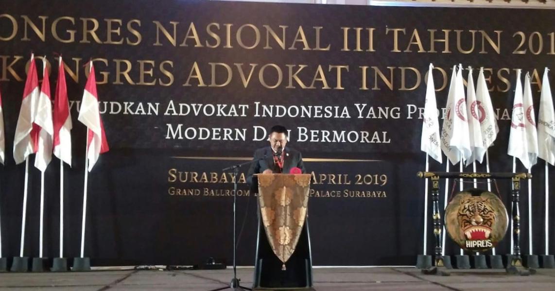 Tjoetjoe Terpilih Kembali Nakhodai KAI Periode 2019-2024