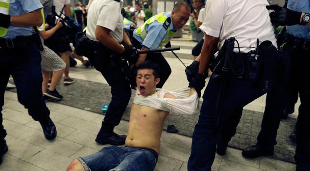 AS dan Inggris Dukung Demonstran Hong Kong Tolak RUU Ekstradisi
